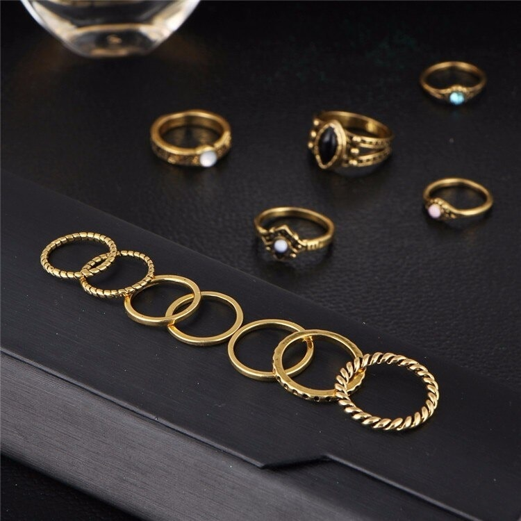 M0332 gold4 Jewelry Sets Rings maureens.com boutique
