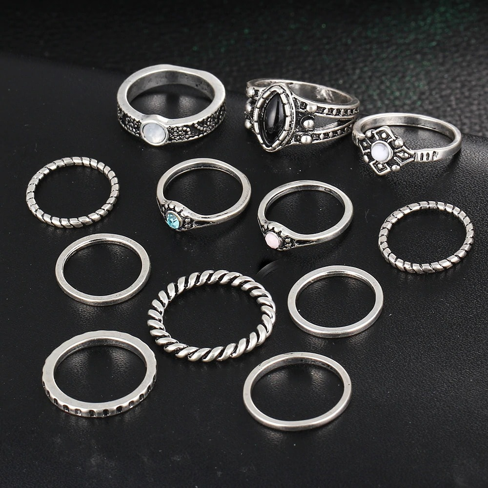 M0332 silver2 Jewelry Sets Rings maureens.com boutique