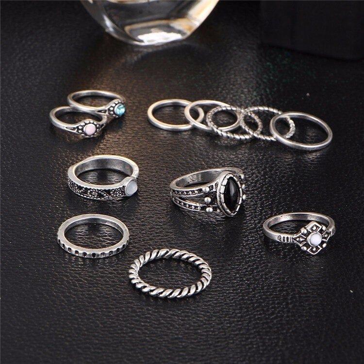 M0332 silver4 Jewelry Sets Rings maureens.com boutique
