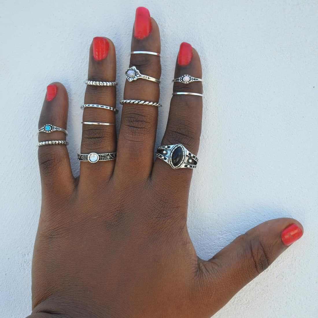 M0332 silver8 Jewelry Sets Rings maureens.com boutique