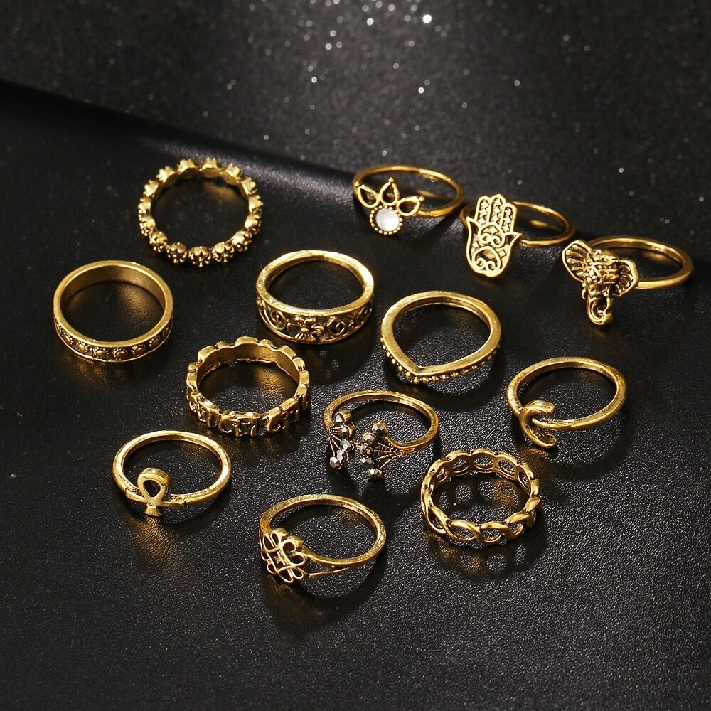 M0333 gold1 Jewelry Sets Rings maureens.com boutique