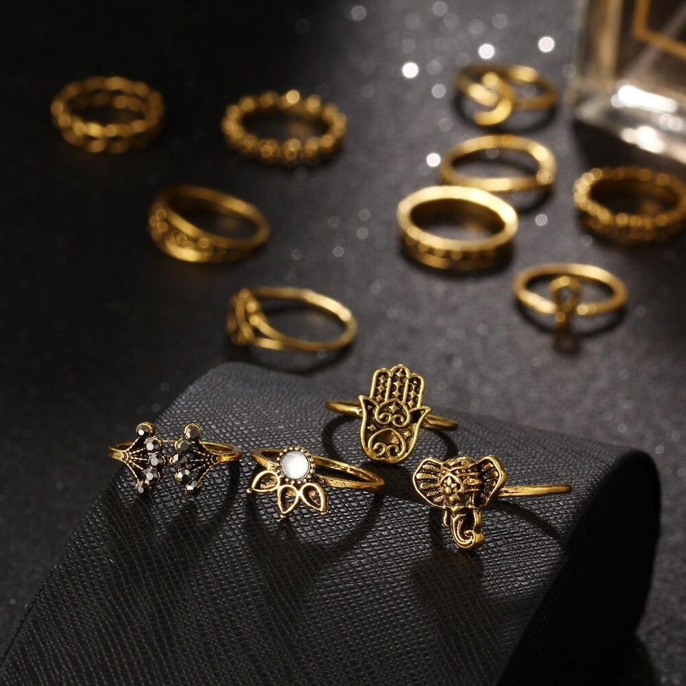 M0333 gold4 Jewelry Sets Rings maureens.com boutique