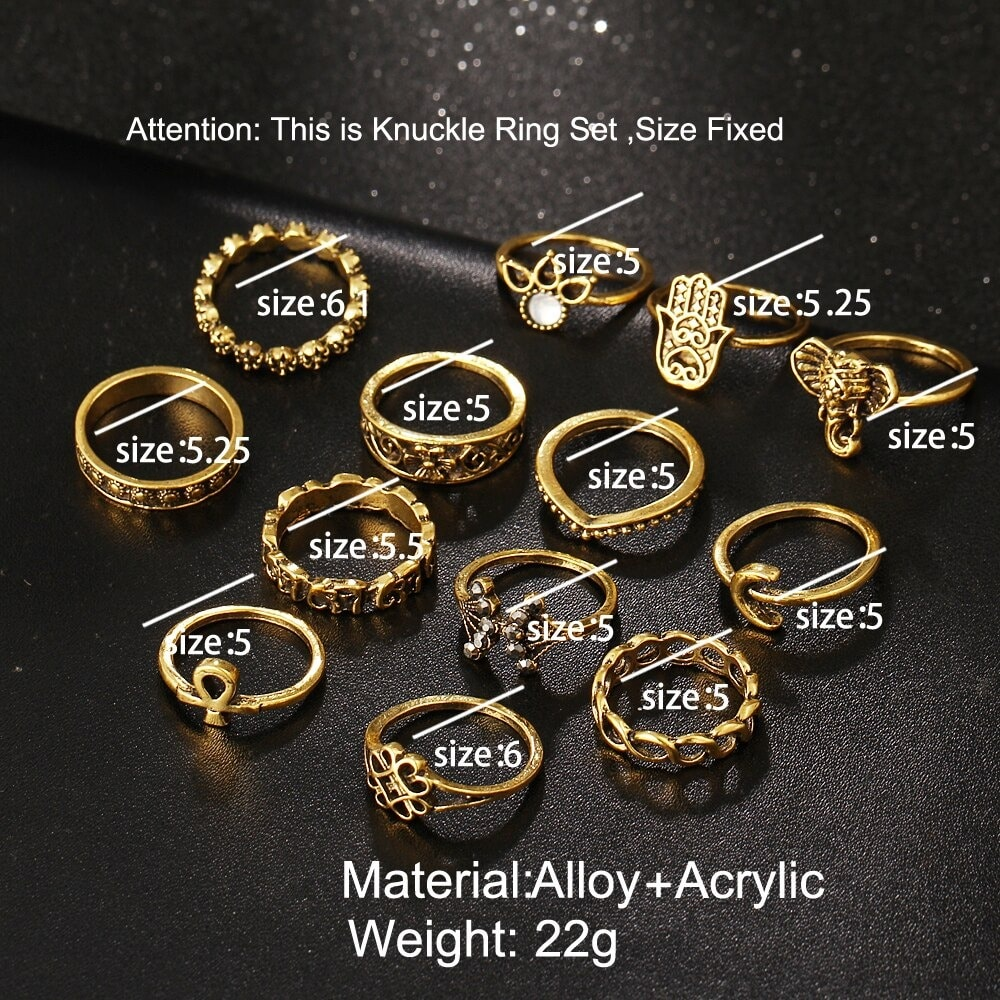 M0333 gold6 Jewelry Sets Rings maureens.com boutique