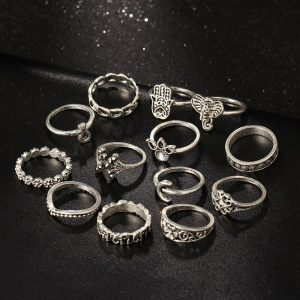 M0333 silver1 Jewelry Sets Rings maureens.com boutique