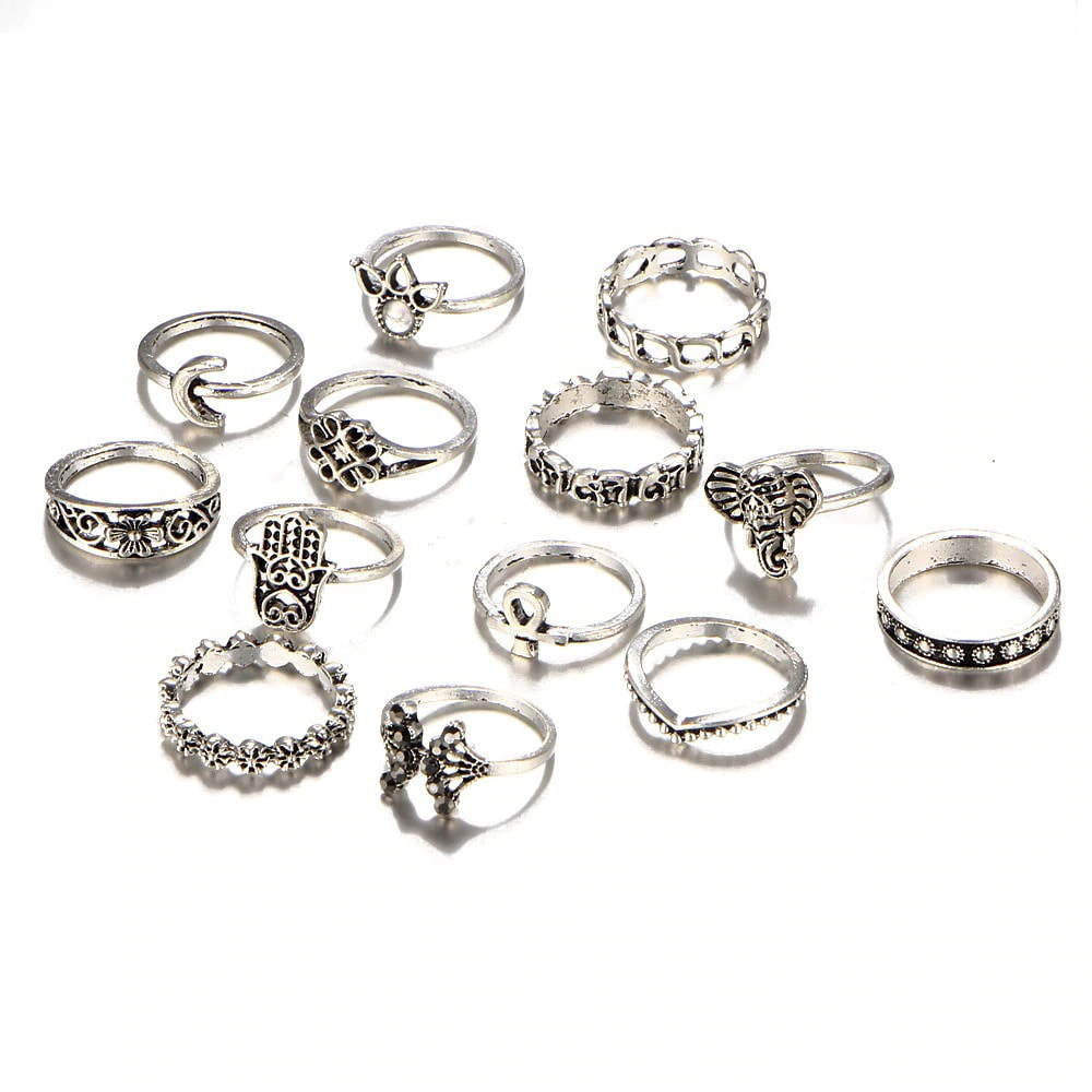 M0333 silver2 Jewelry Sets Rings maureens.com boutique