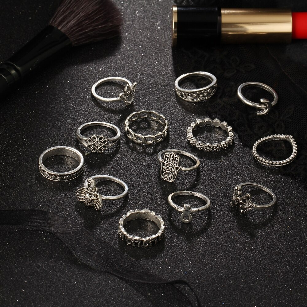 M0333 silver3 Jewelry Sets Rings maureens.com boutique