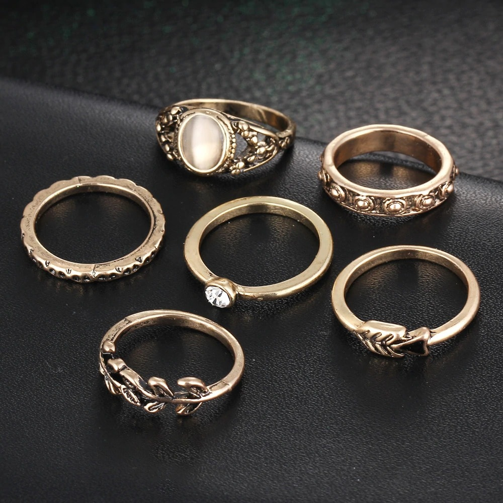 M0334 gold1 Jewelry Sets Rings maureens.com boutique