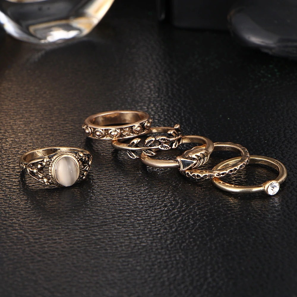 M0334 gold4 Jewelry Sets Rings maureens.com boutique