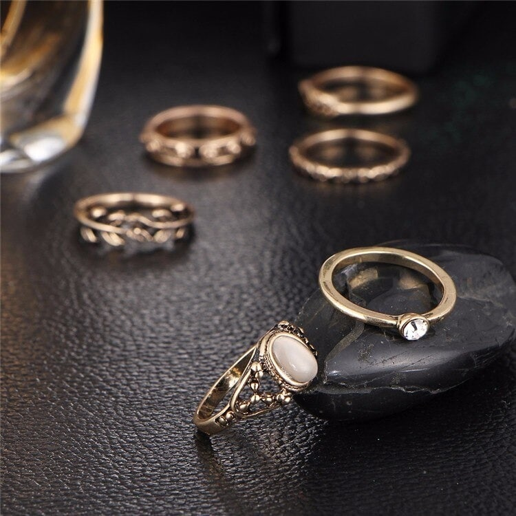 M0334 gold7 Jewelry Sets Rings maureens.com boutique