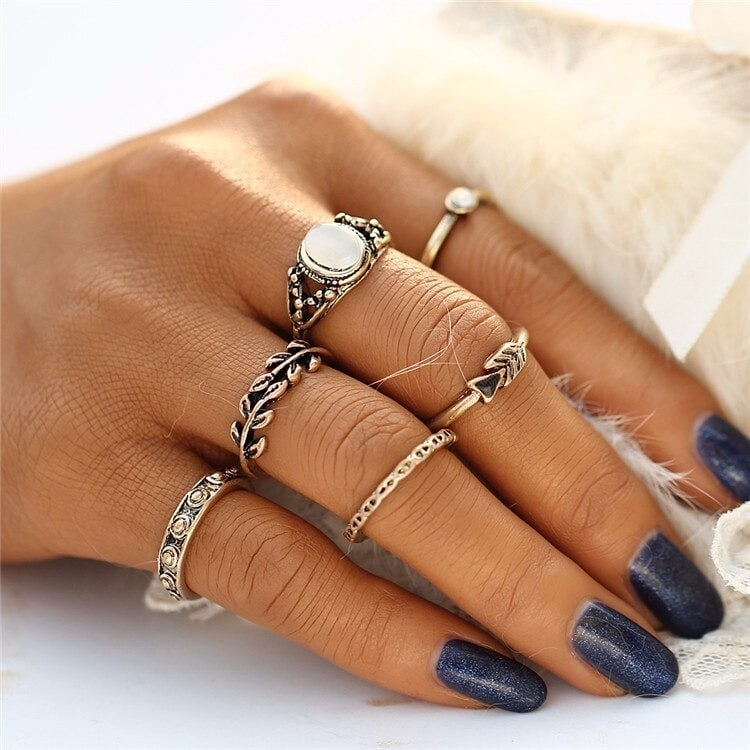 M0334 gold8 Jewelry Sets Rings maureens.com boutique