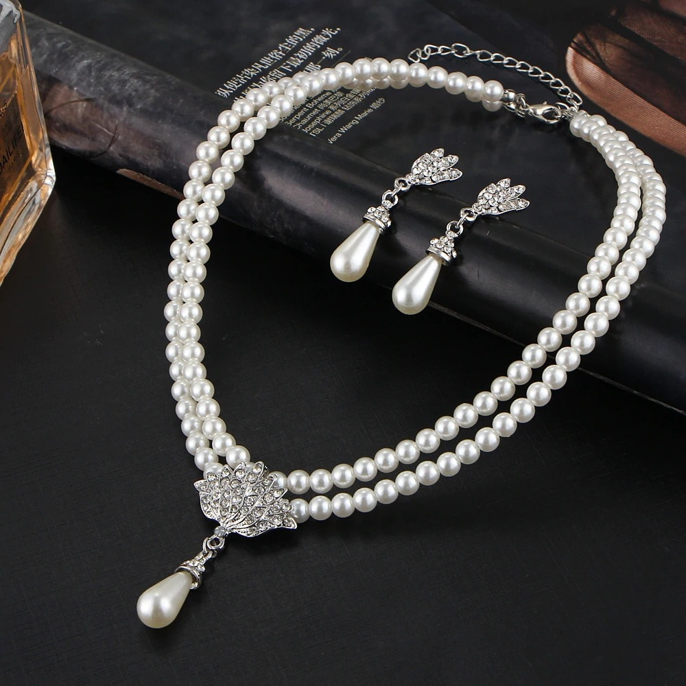 M0336 silver2 Jewelry Accessories Jewelry Sets maureens.com boutique
