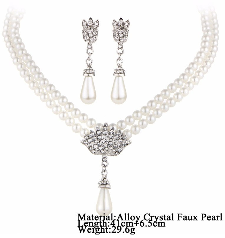 M0336 silver9 Jewelry Accessories Jewelry Sets maureens.com boutique