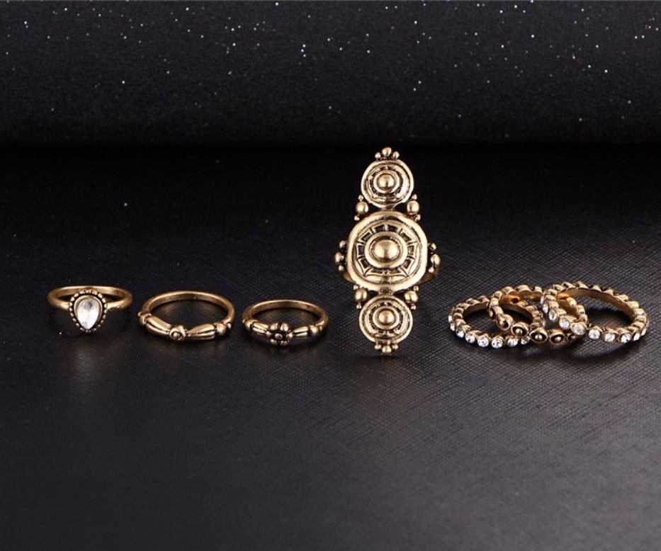 M0337 gold3 Jewelry Sets Rings maureens.com boutique