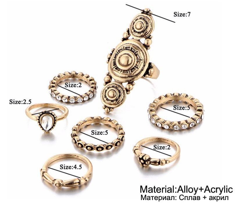M0337 gold7 Jewelry Sets Rings maureens.com boutique