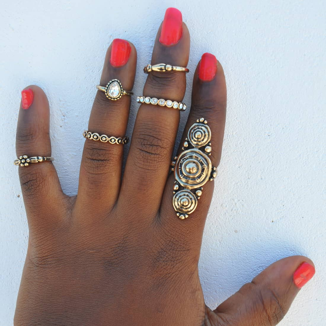 M0337 gold9 Jewelry Sets Rings maureens.com boutique