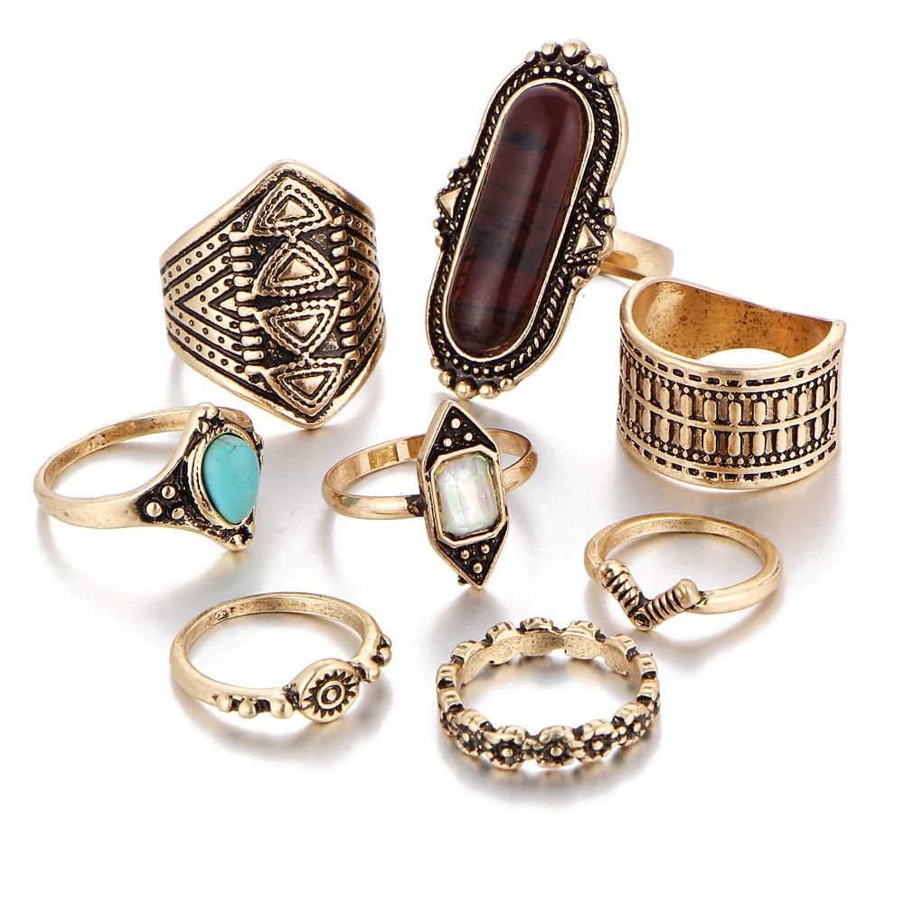 M0338 gold1 Jewelry Sets Rings maureens.com boutique