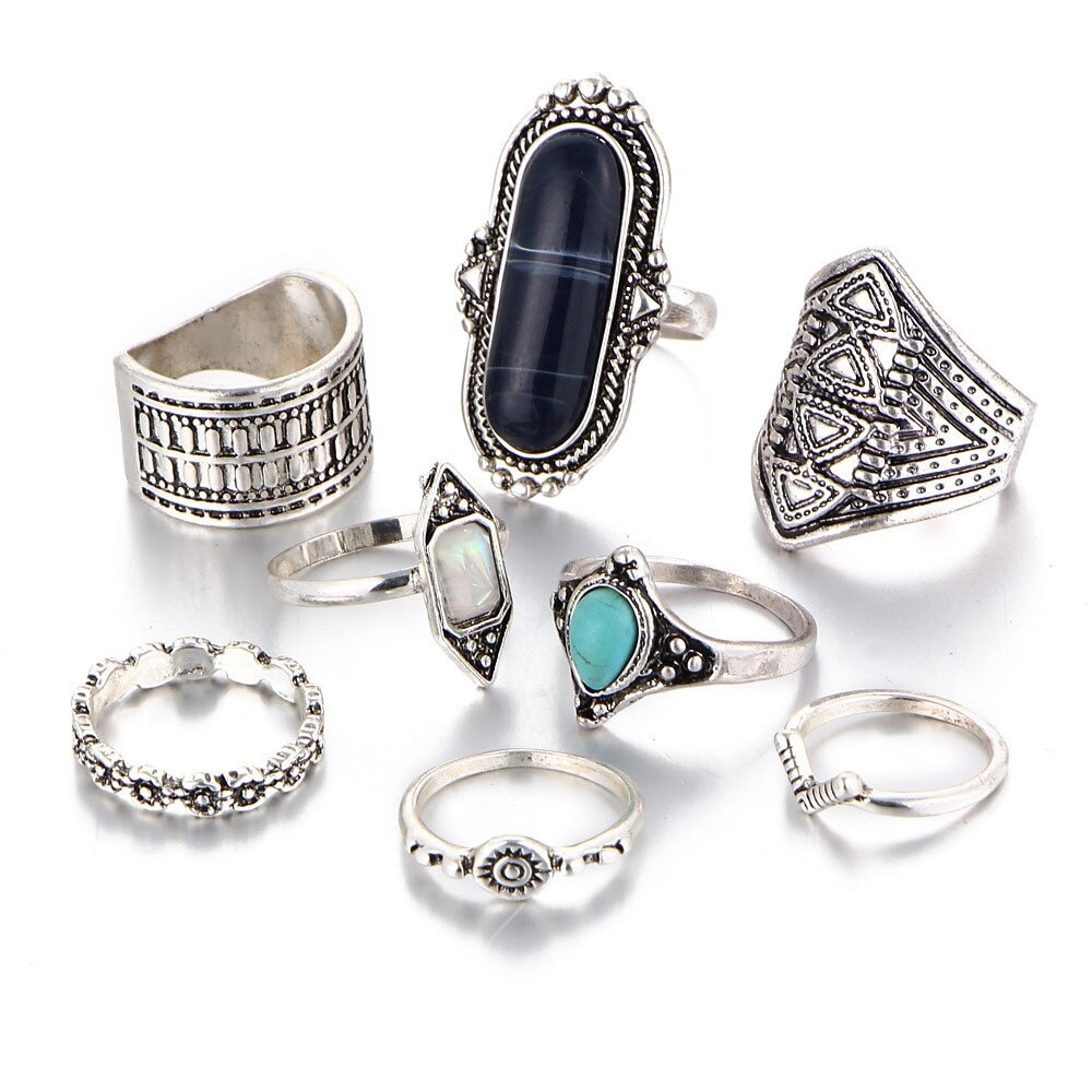 M0338 silver1 Jewelry Sets Rings maureens.com boutique