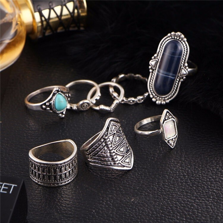 M0338 silver2 Jewelry Sets Rings maureens.com boutique