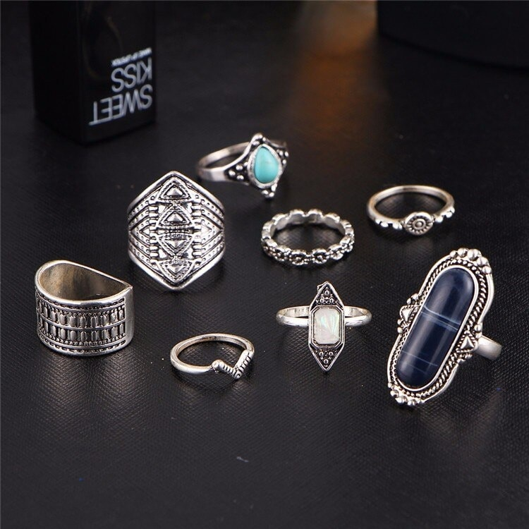 M0338 silver3 Jewelry Sets Rings maureens.com boutique