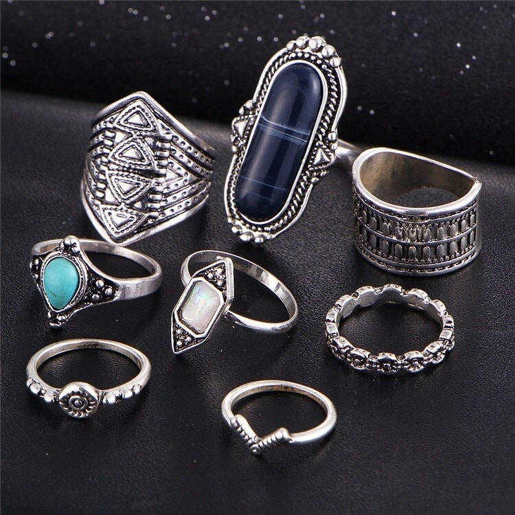 M0338 silver4 Jewelry Sets Rings maureens.com boutique