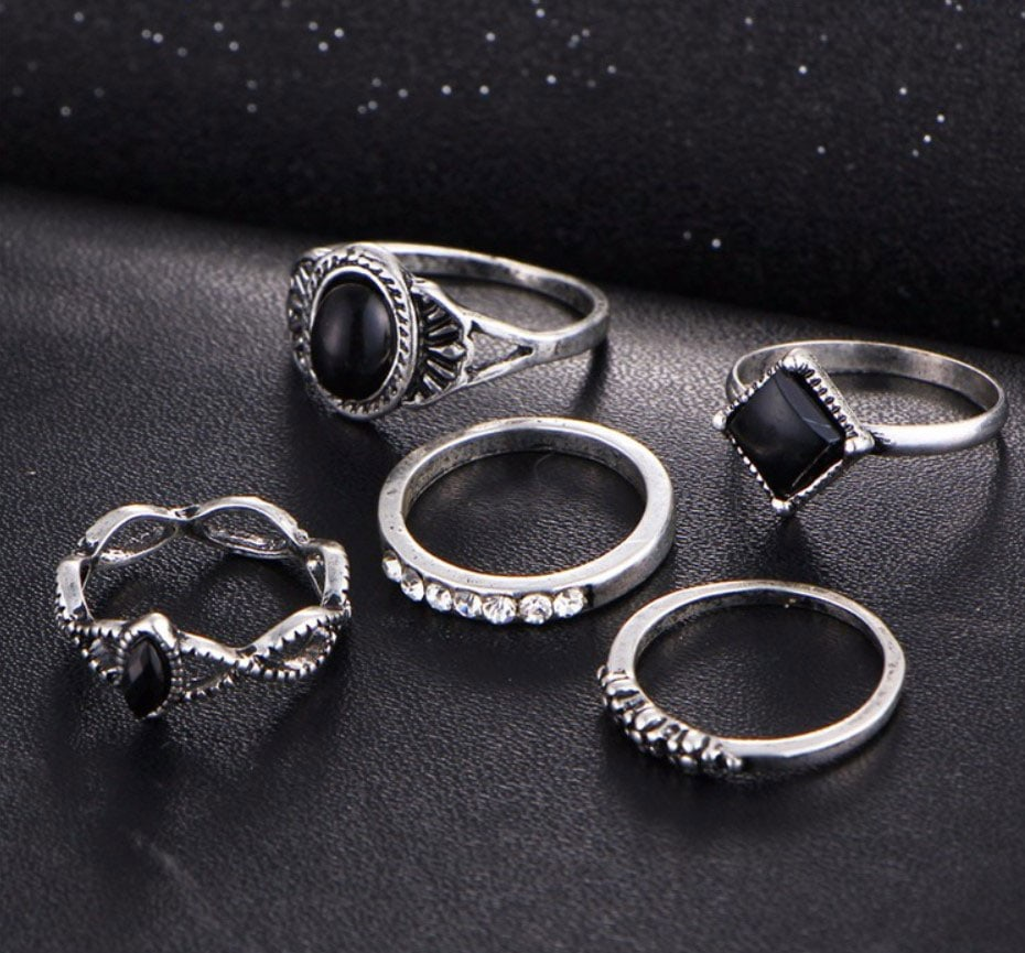 M0339 silver1 Jewelry Sets Rings maureens.com boutique