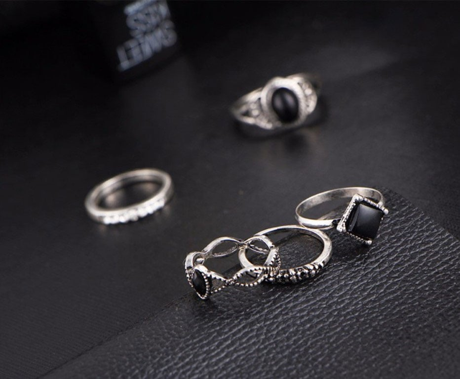 M0339 silver4 Jewelry Sets Rings maureens.com boutique