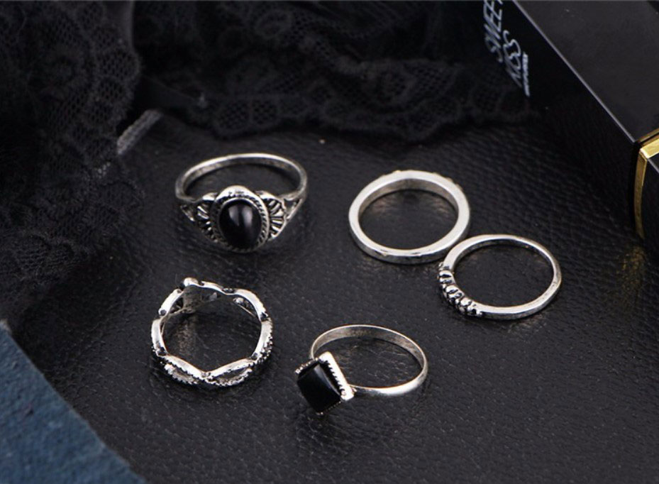 M0339 silver5 Jewelry Sets Rings maureens.com boutique
