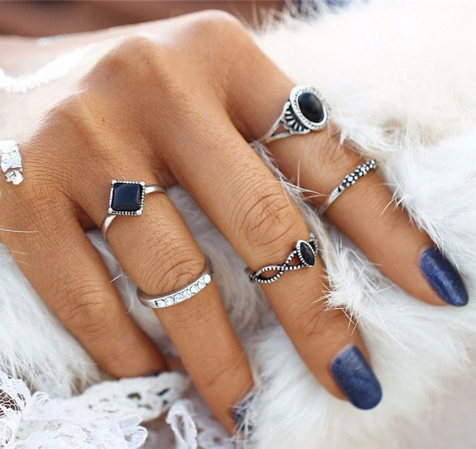M0339 silver6 Jewelry Sets Rings maureens.com boutique