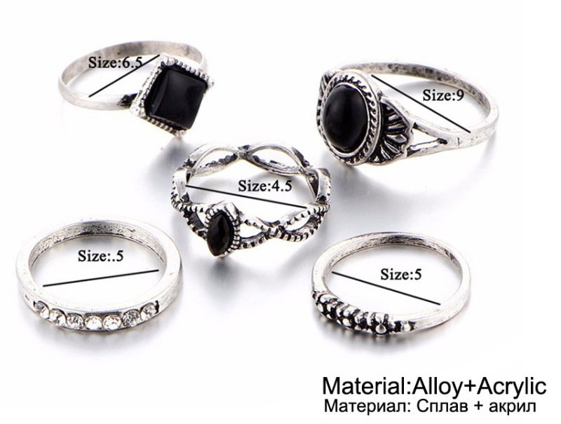 M0339 silver8 Jewelry Sets Rings maureens.com boutique