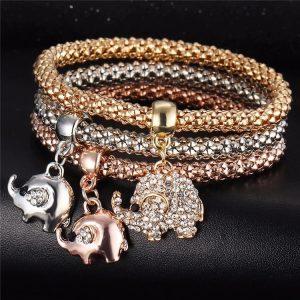 M0340 multicolor 3sty1 Jewelry Accessories Bracelets maureens.com boutique