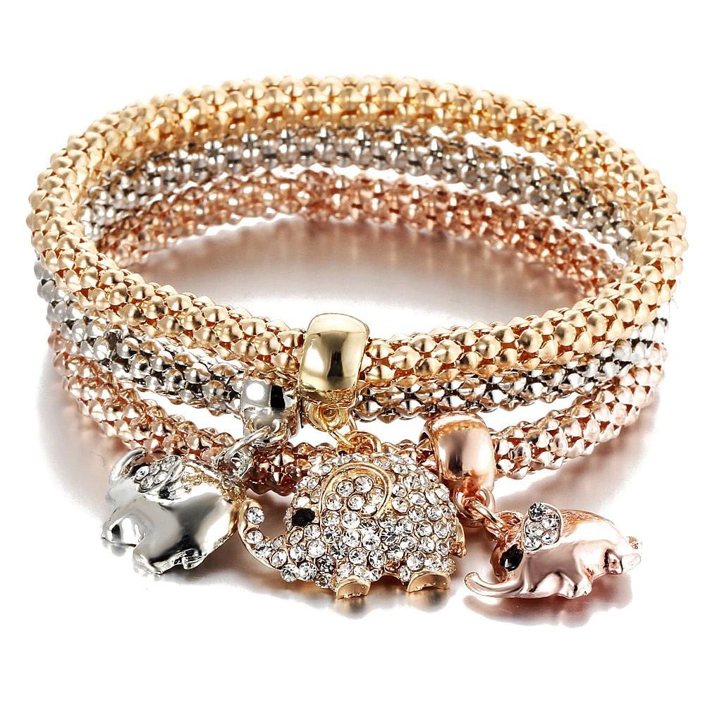 M0340 multicolor 3sty2 Jewelry Accessories Bracelets maureens.com boutique