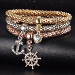 M0340 multicolor 4sty1 Jewelry Accessories Bracelets maureens.com boutique