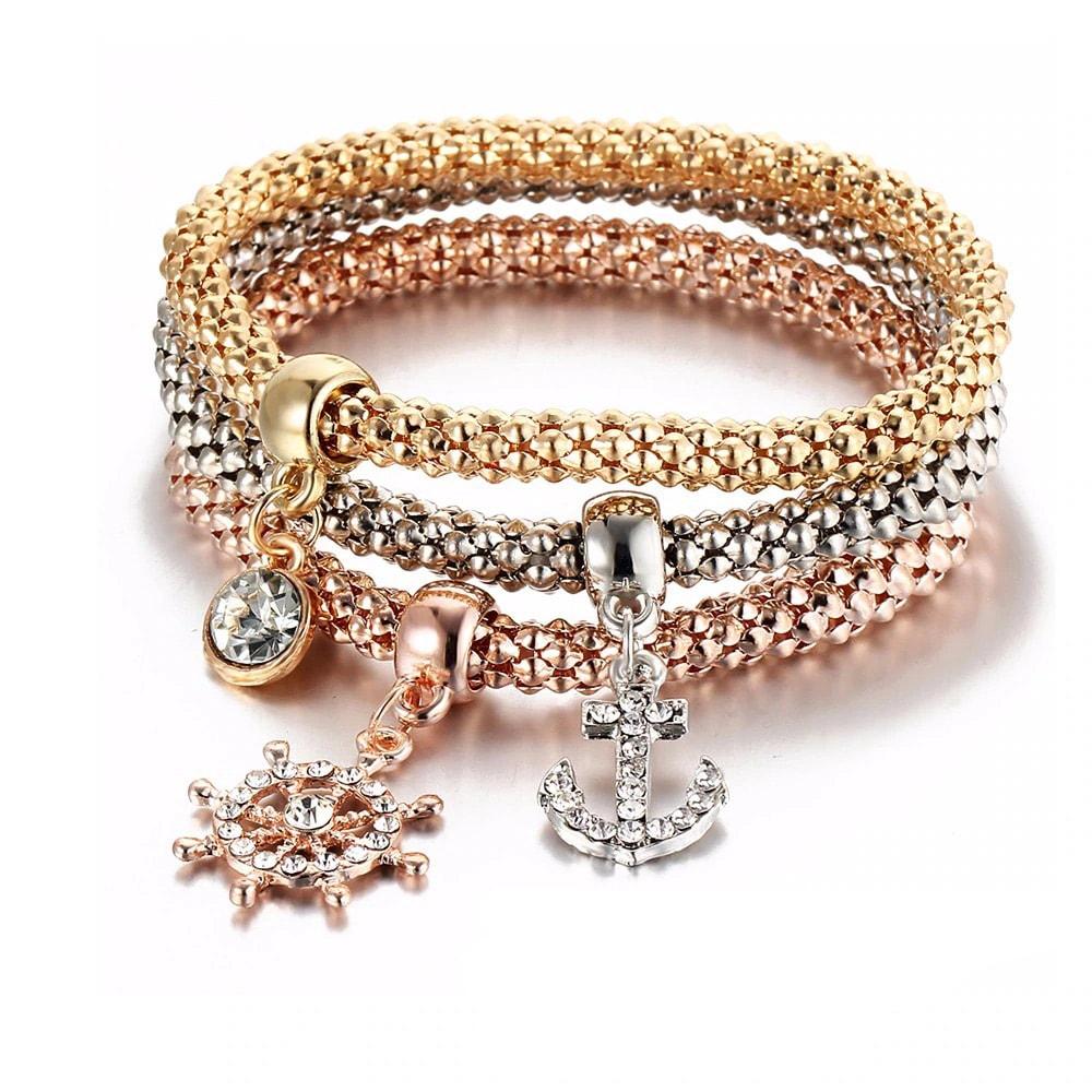 M0340 multicolor 4sty2 Jewelry Accessories Bracelets maureens.com boutique