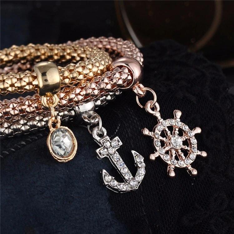 M0340 multicolor 4sty4 Jewelry Accessories Bracelets maureens.com boutique