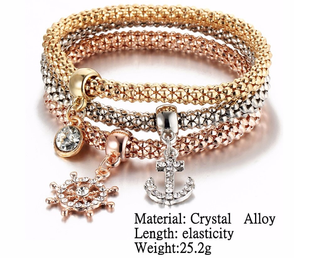 M0340 multicolor 4sty6 Jewelry Accessories Bracelets maureens.com boutique