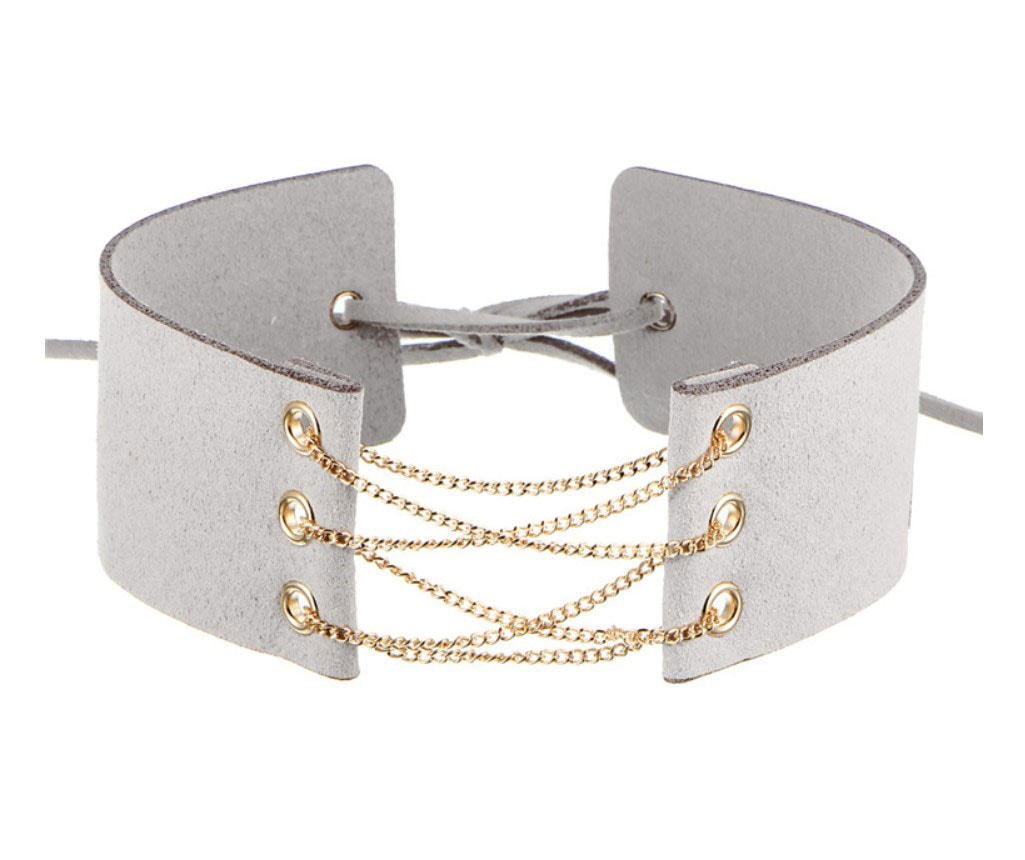 M0341 gray1 Jewelry Accessories Necklaces Chokers maureens.com boutique