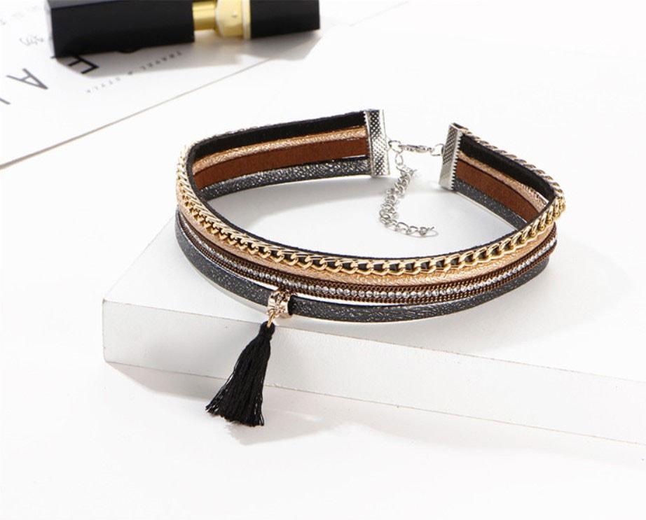 M0342 multicolor2 Jewelry Accessories Necklaces Chokers maureens.com boutique