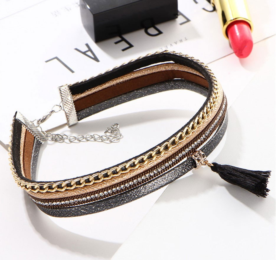M0342 multicolor3 Jewelry Accessories Necklaces Chokers maureens.com boutique