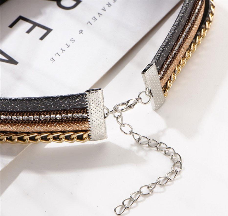 M0342 multicolor5 Jewelry Accessories Necklaces Chokers maureens.com boutique
