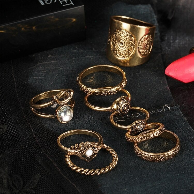 M0343 gold2 Jewelry Sets Rings maureens.com boutique