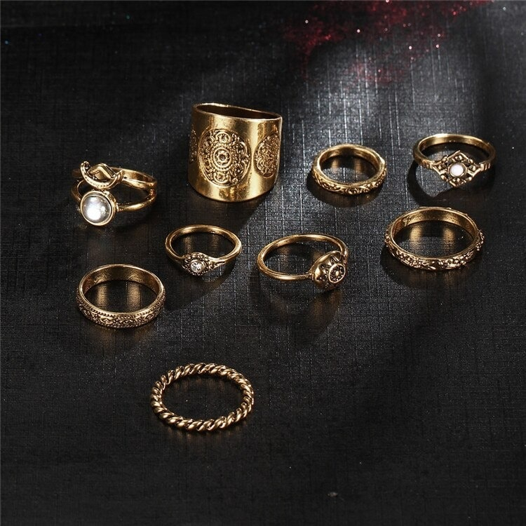 M0343 gold3 Jewelry Sets Rings maureens.com boutique