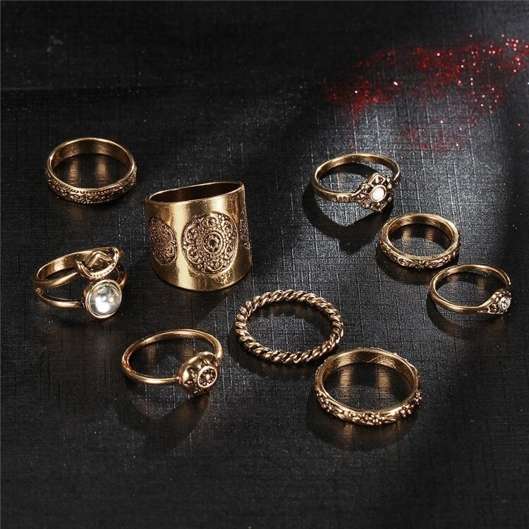M0343 gold4 Jewelry Sets Rings maureens.com boutique