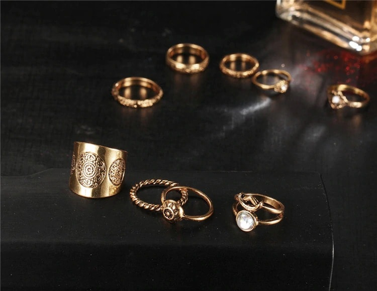 M0343 gold5 Jewelry Sets Rings maureens.com boutique