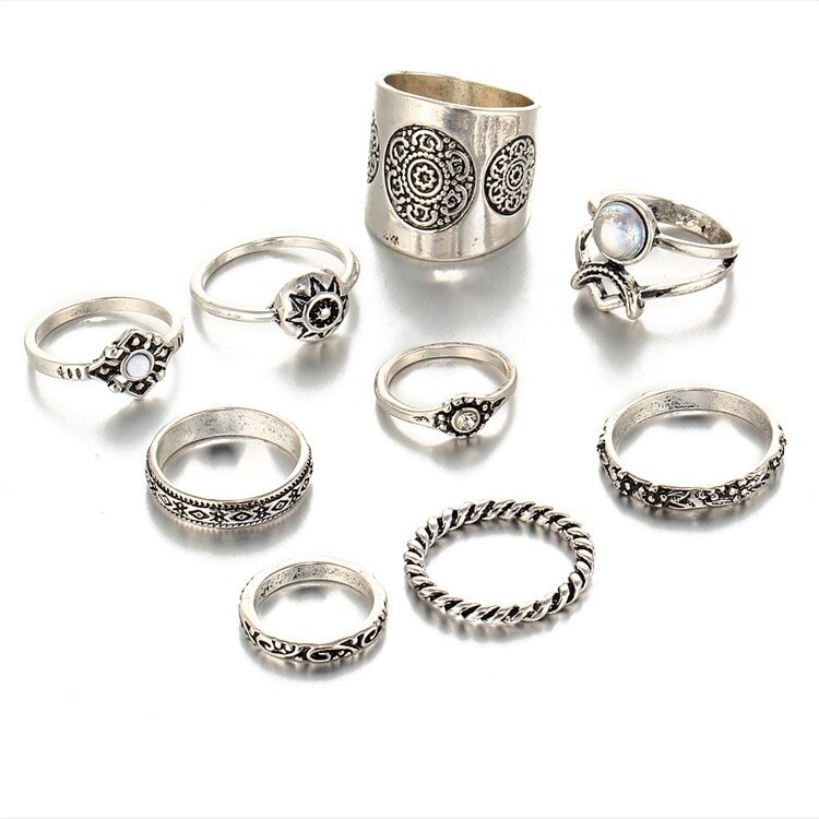 M0343 silver1 Jewelry Sets Rings maureens.com boutique