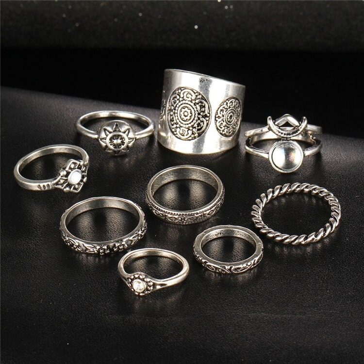 M0343 silver2 Jewelry Sets Rings maureens.com boutique