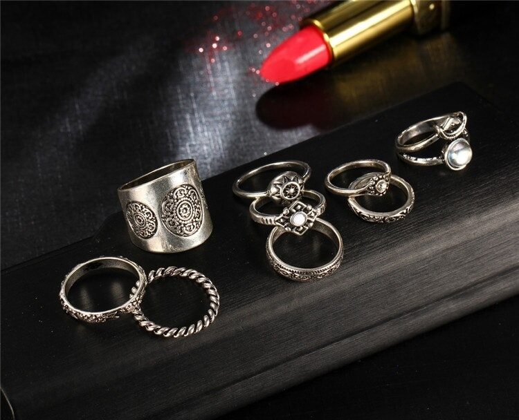 M0343 silver3 Jewelry Sets Rings maureens.com boutique