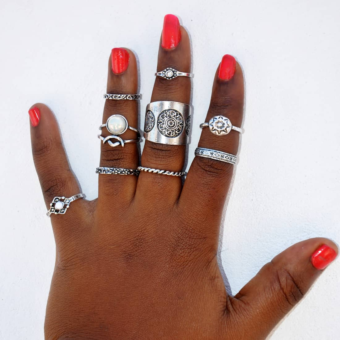 M0343 silver6 Jewelry Sets Rings maureens.com boutique