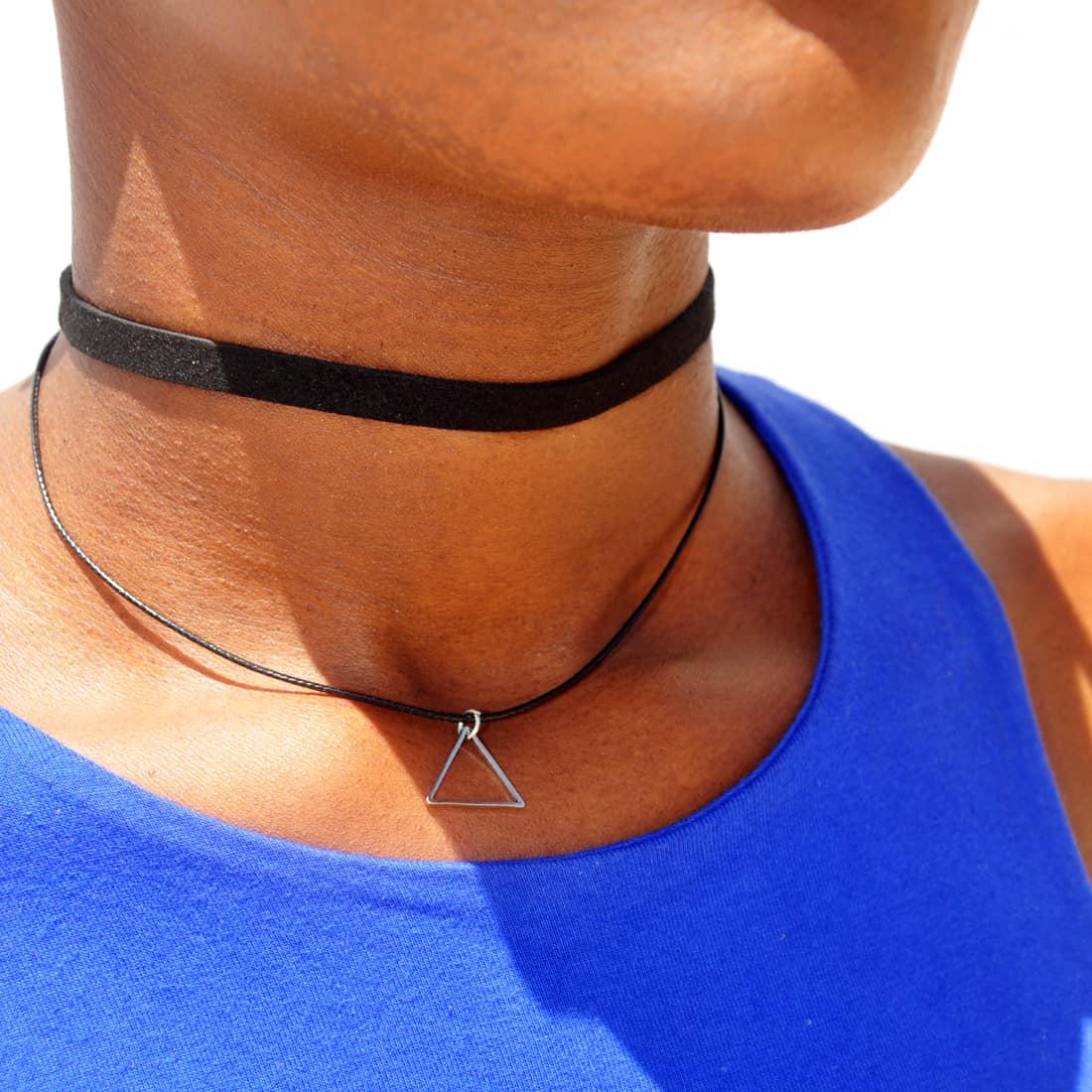 M0344 black14 Necklaces Chokers Jewelry Sets maureens.com boutique