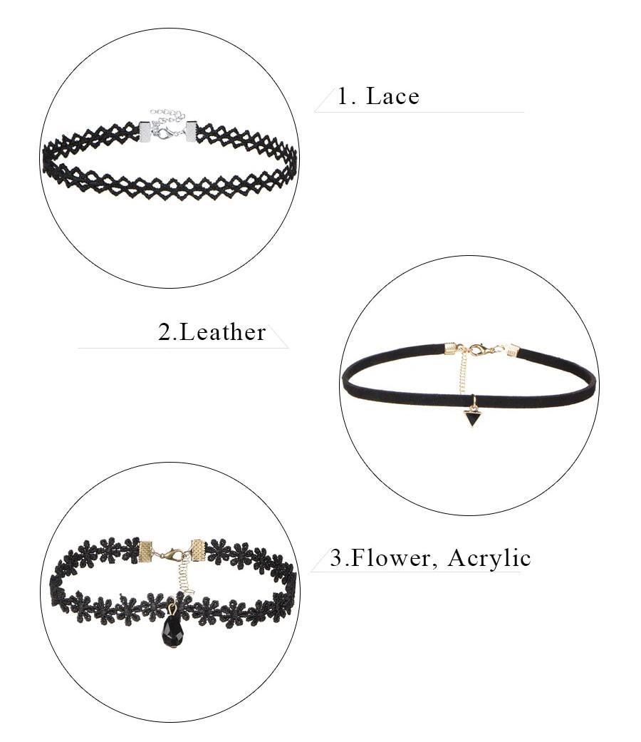 M0344 black2 Necklaces Chokers Jewelry Sets maureens.com boutique