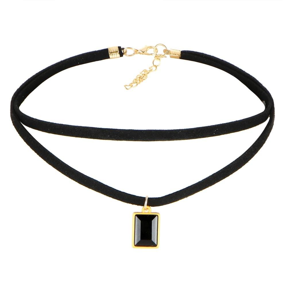 M0344 black6 Necklaces Chokers Jewelry Sets maureens.com boutique